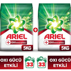 Ariel Oxi 2x5 kg Toz Çamaşır Deterjanı