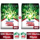 Ariel Oxı Aqua Pudra 2 x 6 kg Toz Çamaşır Deterjanı