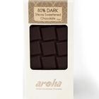 Aroha Stevialı %80 Bitter Çikolata Ketojenik - 80 gr