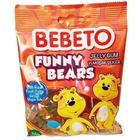 Bebeto Funny Bears 12x80 gr Jelibon
