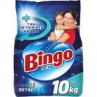 Bingo Matik Renkli Beyaz 10 kg Toz Çamaşır Deterjanı