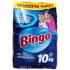 Bingo Matik Sık Yıkananlar 10 kg Toz Çamaşır Deterjanı