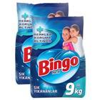 Bingo Sık Yıkananlar 9 kg + 9 kg 2'li Set Matik Çamaşır Deterjanı