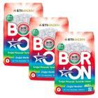 Boron Doğal Mineralli Renkliler 3x4 kg Çamaşır Deterjanı