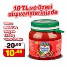 Burcu 1200 gr Salça Domates