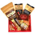 Çerez Tabağı 200 gr Çikolata Aşkı Hediye Kutusu