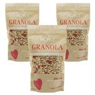 Çilekli Chialı Granola 3x360 gr  - Mom's Granola