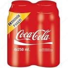Coca Cola 4x250 ml Kola