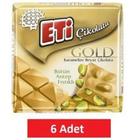 Eti 6x60 gr Çikolata Gold Antep Fıstıklı