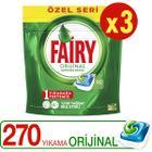 Fairy 3x90 Adet Bulaşık Makinesi Deterjanı