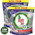 Fairy Jar Platinum Bulaşık Makinası Deterjanı 2x84