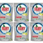 Fairy Platinum 6x43 Adet Limon Kokulu Bulaşık Makinesi Deterjanı