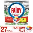 Fairy Platinum Plus 27 Yıkama Bulaşık Makinesi Deterjanı Kapsülü