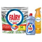 Fairy Platinum Plus 50'li Tablet + Hijyen 500 ml + Febreze Platinum 300 ml Parfüm