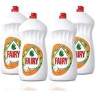 Fairy Portakal 4x1350 ml Sıvı Bulaşık Deterjanı