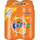 Fanta 4x250 ml Portakallı Gazoz