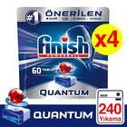 Finish Quantum 4x60 Tablet Bulaşık Makinesi Deterjanı