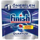 Finish Quantum 72'li Tablet Bulaşık Makinesı Deterjanı