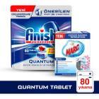 Finish Quantum 80 Tablet Bulaşık Makinesi Deterjanı + Marc 2x250 ml Çamaşır Makine Temizleyici