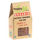 Happy Life 150 gr Organik Keten Tohumu