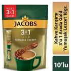 Jacobs Gold 3'ü 1 Arada Yumuşak Lezzet 10x18 gr Kahve