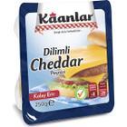 Kaanlar 250 gr Dilimli Cheddar Peynir