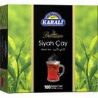 Karali Premium Bardak 100'lü Poşet Siyah Çay
