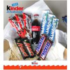 Kinder & Mars & Snickers & Bounty Çikolata Hediye Seti