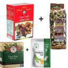 Kış Çayı Yeni Mahsul 200 gr + Ziya Dede Atom Çayı 50 Küp + Gece Kızı + Moringa Çayı Kış Form Çayları