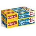 Koroplast 4 Adet 40'lı Küçük Boy Buzdolabı Poşeti