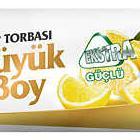 Koroplast Limon Kokulu Büyük Boy Çöp Poşeti