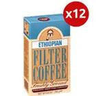 Kuru Kahveci Mehmet Efendi Brazilian 12x250 gr Filtre Kahve
