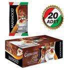 Mahmood 20x25 gr 12'li Çikolata Parçacıklı Cappucino