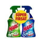 Marc 2'li 750 ml Banyo ve Mutfak Temizleyici Yağ Çözücü Kireç Sökücü Sprey