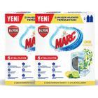 Marc 4x250 ml Limon Ferahlığı Çamaşır Makinesi Temizleyici
