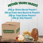 Masaradan.com 4 Çeşit Peynir Peynir Tadım Paketi