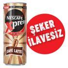 Nescafe 250 ml Xpress Cafe Latte Şekersiz
