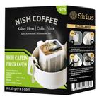 Nish Kahve Yüksek Kafein Pratik Filtre Kahve