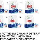 Omo 6x1170 ml Active Sıvı Deterjan