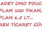 Omo Pouch 100 Yıkama Sıvı Çamaşır Deterjanı