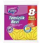 Parex 8'li %30 Mikrofiber Sarı Temizlik Bezi
