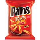 Patos 125 gr Rolls Acı Biber Aro Çeşnili Mısır Cipsi