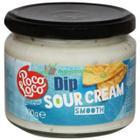 Poco Loco Dip Sour Cream Smooth 300 gr