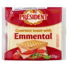 President 120 gr Gourmet Toast With Emmental Peynir