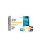 Reflex Winlyex Worker Glove L-XL Beden 50'li Pudrasız Sarı Eldiven