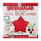 Şeker & Sugar 1 kg Kırmızı Şeker Hamuru