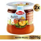 Sera Gurme Kayısı Reçeli 2 X 370 gr Cam Kavanoz