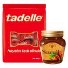 Tadelle Mini Çikolata Çoklu Paket 200 gr + Sarelle Kakaolu Fındık Kreması 350 gr