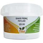Tito 125 gr Bakır Pirinç Patlağı