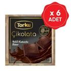 Torku 6x65 gr Bitter Tablet Çikolata